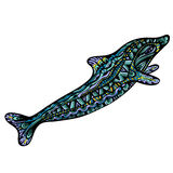 Fancy Dolphin Royalty Free Stock Photo