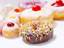 Fancy donuts Stock Images