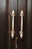 Fancy door handles Royalty Free Stock Photo