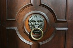 Fancy door knocker Stock Photography