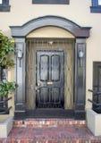 Fancy Doorway. A fancy doorway to an expensive home Royalty Free Stock Photos