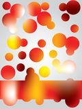 Fancy dots Stock Image