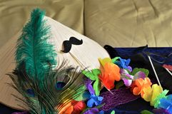 Fancy dress accessories Stock Photography