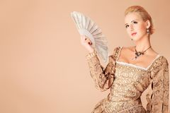 Fancy-dress Ball Stock Images