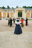 Fancy-dress dance in Arhangelskoe estate Royalty Free Stock Photo