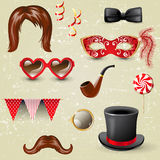 Fancy dress elements Stock Photography