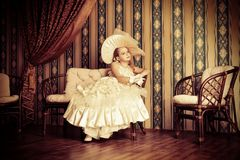 Fancy dress royalty free stock images