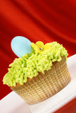Fancy Easter cupcake Royalty Free Stock Images