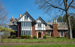 Fancy English Tudor House Stock Images
