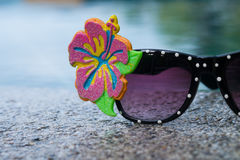 Fancy eyeglass Stock Images
