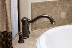 Fancy faucet Stock Images