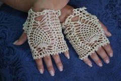 Fancy Fingerless Gloves Stock Image