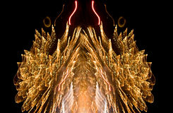 Fancy fireworks Royalty Free Stock Photo