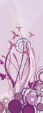 Fancy floral design Stock Images