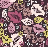 Fancy floral pattern. For fabric design Stock Image