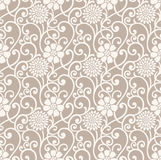 Fancy floral seamless wallpaper royalty free illustration