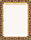 Fancy frame Royalty Free Stock Photos
