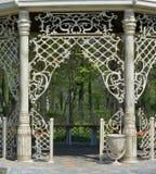 Fancy gazebo entrance Royalty Free Stock Images