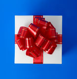 Fancy gift box top Stock Images