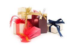 Fancy gift boxes Stock Photos