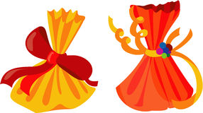Fancy Gifts. Illustrations vector of colorful Fancy Gifts stock illustration