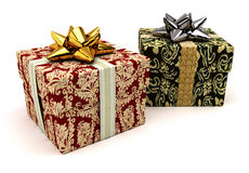 Fancy Gifts Royalty Free Stock Photos