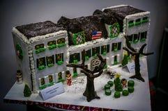 Fancy Gingerbread houses in Philadelphia stock image