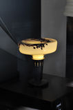 Fancy glass  table lamp,led bulb,lamp bulb,light bulb,led light,led lamp,led lighting,new energy source,energy saving Royalty Free Stock Image