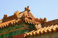 Free Fancy Glazed Tile Roof In The Eastern Royal Tombs Of The Qing Dy Stock Image - 31868661