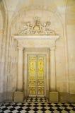 Fancy gold door Stock Photo