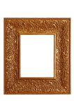 Fancy gold frame Stock Image