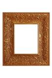 Fancy gold frame Stock Image
