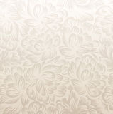 Fancy golden floral background Royalty Free Stock Photos