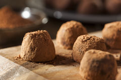 Fancy Gourmet Chocolate Trufffles Royalty Free Stock Photo