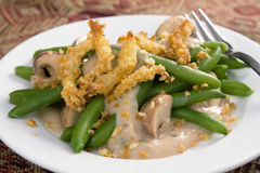 Fancy Green Bean Casserole Royalty Free Stock Photography
