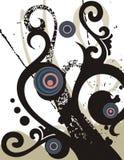 Fancy grunge background Royalty Free Stock Photo