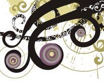 Fancy grunge background Stock Image