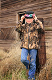 Fancy Hat and Camo Royalty Free Stock Images