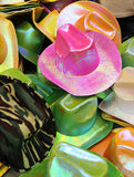 Fancy hats for carnival Stock Images