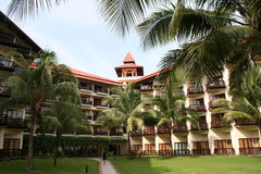Fancy Hotel. A fancy hotel in Sabah, Malaysia Royalty Free Stock Photography