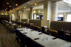 Fancy hotel bar restaurant Royalty Free Stock Images
