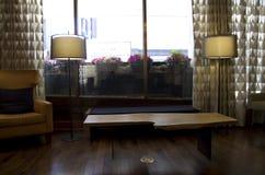 Fancy hotel lobby royalty free stock photography