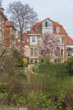 Fancy house in Brunswick, Germany Stock Image