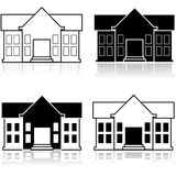 Fancy house Royalty Free Stock Images