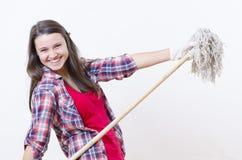 Fancy Housekeeper Stock Photo