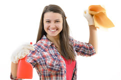 Fancy Housekeeper Royalty Free Stock Image