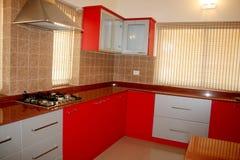 Fancy Kitchen Stock Photography