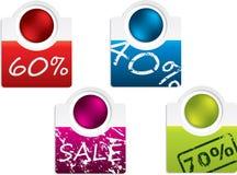 Fancy label design set Stock Images