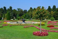 A fancy landscaped park Stock Image