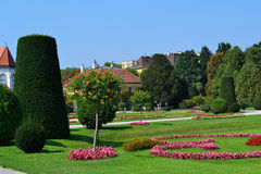 A fancy landscaped park Royalty Free Stock Images